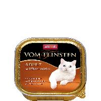 """Консервы Vom Feinsten """"С куриной печенью"""" 11,5/4,7 (для взрослых котов и кошек), 100г"""