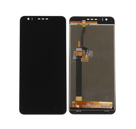 Дисплей (экран) для HTC 10 Desire Compact/825 Desire с сенсором (тачскрином) черный, фото 2