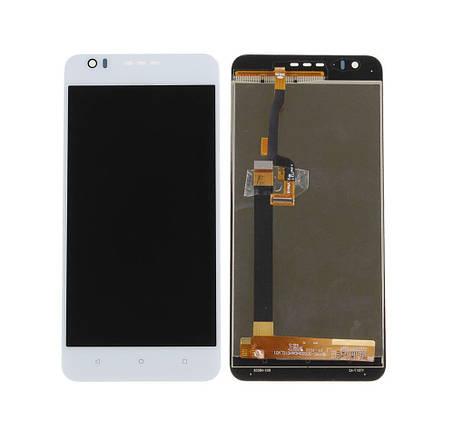 Дисплей (экран) для HTC 10 Desire Compact/825 Desire с сенсором (тачскрином) белый Оригинал, фото 2