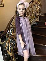 Модное детские платье , фото 1
