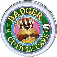 Органический крем для кутикулы с маслом ши Badger Soothing Shea Butter Cuticle Care, фото 1