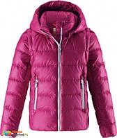 Куртка-житет 2в1 пуховая зимняя Reima Minna 531290, цвет 3920