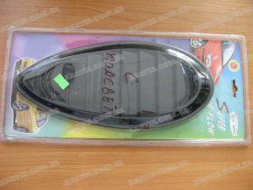 Накладки декор. пластик FCAS203802 black с подсветкой (пара)
