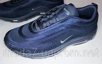 Мужские кроссовки Nike AIR MAX 97 синий, фото 3