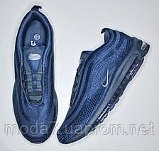 Мужские кроссовки Nike AIR MAX 97 синий, фото 2