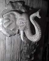 Слон ,картина-скульптура