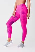 Леггинсы лосины женские для фитнеса спорта SPAIO Fitness W01 (женское термобелье, штаны тайтсы)
