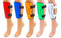 Щитки футбольные KAPPA FB-5091 (пластик, EVA, l-20см, р-р М, цвета в ассортименте)