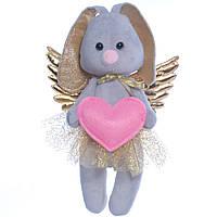 Мягкая игрушка зайка Ангел