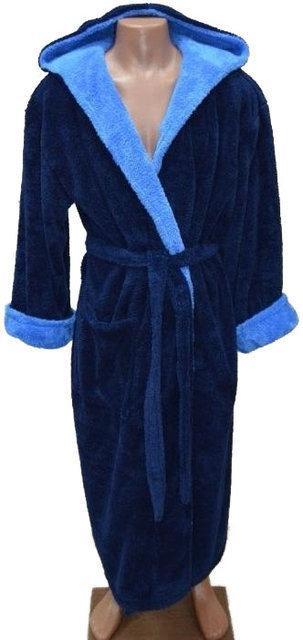 Теплый мужской халат махра