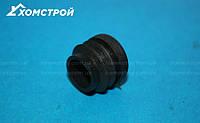 Заглушка черная круглая внутренняя диаметр 20 мм