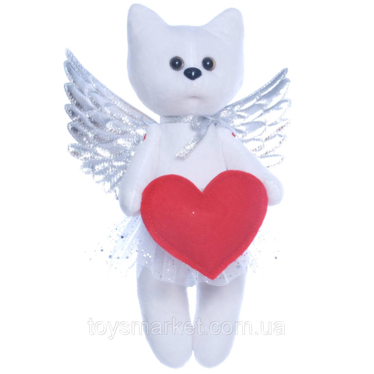 Мягкая игрушка котик Ангел