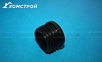 Заглушка черная круглая внутренняя диаметр 30 мм