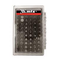 Набір біт Pz2 x 50 мм, сталь 45Х, 10шт., в пластиковому боксі// MTX