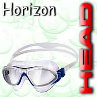 Очки для плаванья HORIZON (Бело-синие)