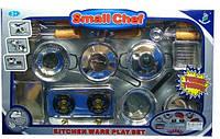 Детская игровая посуда 0710 с плитой