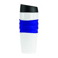 Термокружка Friend, нержавіюча сталь, клапан-кнопка, 400 мл, BPA Free-310 под лазерную гравировку