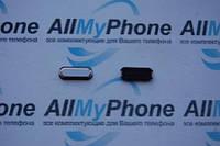 Пластик кнопки меню для Samsung N9005 Galaxy Note 3 белый с золотом