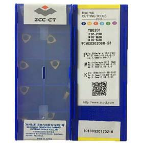 Пластина ZCC-CT WCMX 030208R-53 YBG201