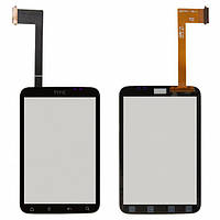 Сенсор (тачскрин) для HTC A510e Wildfire S G13, версия:2 черный