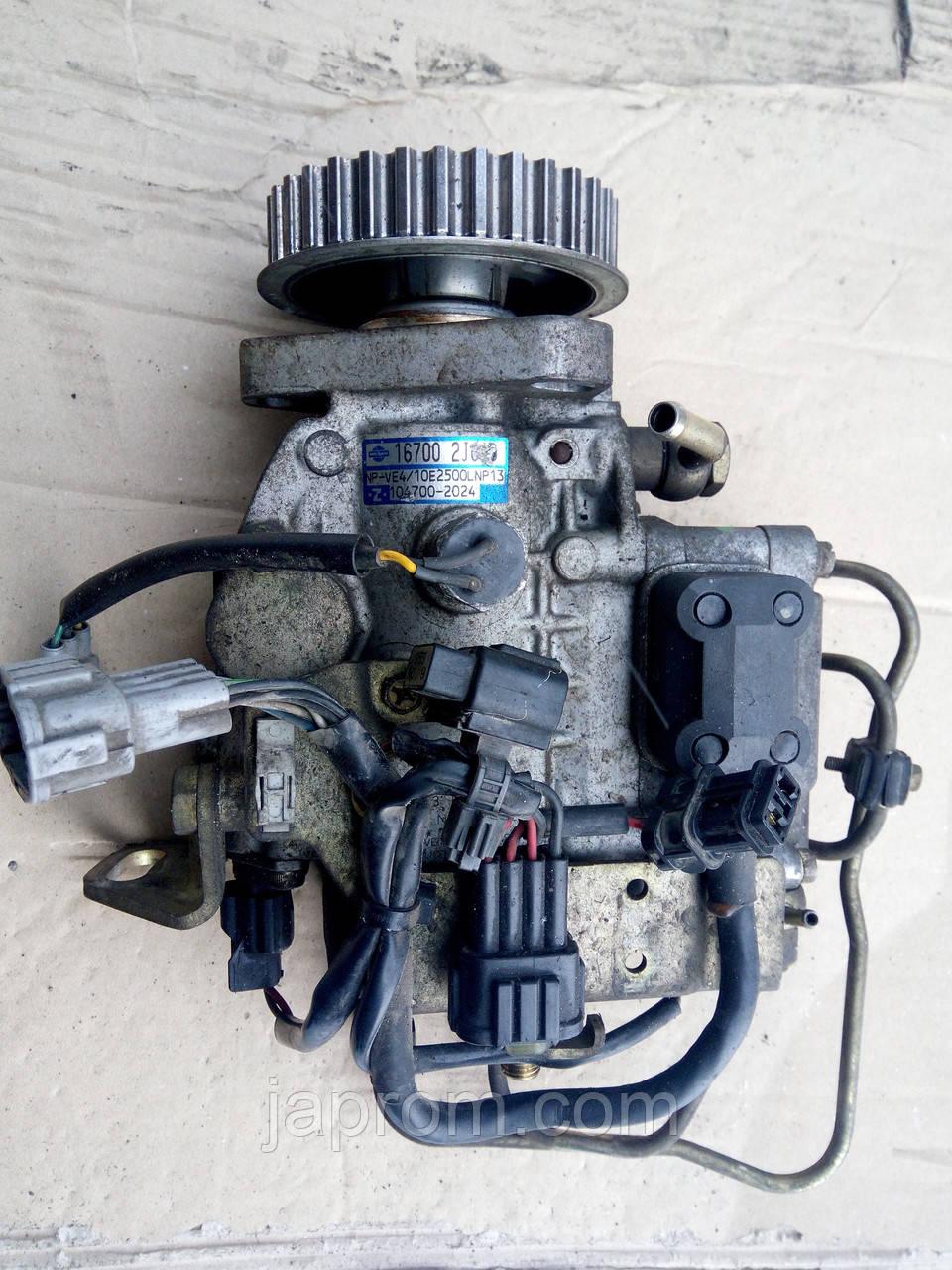 ТНВД Топливный насос высокого давления Nissan Primera P11 Almera N15 2,0TDI CD20 167002J620