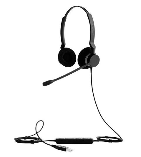 Гарнітура для колл-центру Jabra BIZ 2300 Duo USB