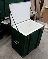 Деревянный ящик с уплотнителем, фанерный ящик с покраской