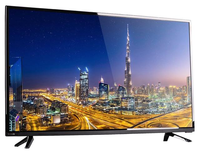 "Телевизор 39"" Bravis LED-39E6000+T2 black"