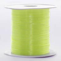 Резинка силиконовая для рукоделия, салатовая, Размер: 0,8 мм/10 м