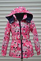 Весенняя куртка-плащ для девочек,Размер 8-16,Фирма TAURUS,Венгрия