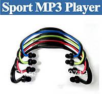 Беспроводные портативные Wrap Around МР3 плеер спортивные наушники для бега, FM радио