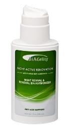 BIA-гель Night Active Renovation (ночной гель, фито мелатонин, коллаген, бессонница, сон, иммунитет, морщины)