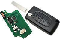 Оригинльный выкидной автоключ Peugeot  307,308,407,607  chip ID46 433Mhz (Оригинал).