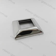 Декоративная чашка для квадратной стойки 40*40 мм ST-423