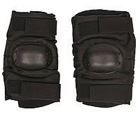 Тактические налокотники MilTec Black 16232202