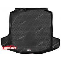 Пластиковый коврик в багажник для Skoda Rapid (NH) (хэтчбек) 2012-