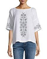 Заготовка вишиванки жіночої сорочки та блузи для вишивки бісером Бисерок  «Візерунки-1» ( 3f7b2bf5a0530