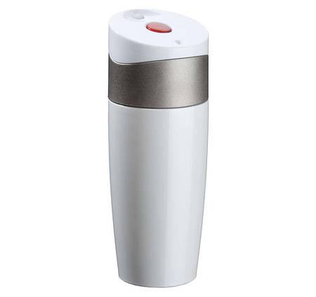 Термокружка Fashion Men, нержавеющая сталь, клапан-кнопка, 500 мл. BPA Free.