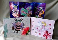 Дизайнерские открытки ручной работы для детей. Подарок на день Святого Валентина