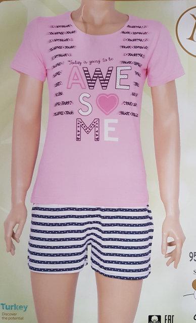 """Женская пижама """"Nicoletta"""" №80748 шорты"""