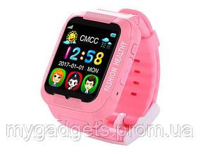 Смарт Часы Детские  К3 (водонепроницаемые + камера) розовые