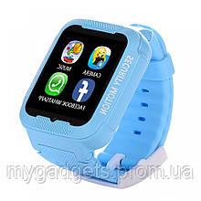 Смарт Часы Детские  К3 (водонепроницаемые + камера) голубые