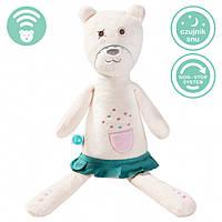 Myhummy - успокаивающая музыкальная мягкая игрушка с белым шумом. Девочка белая
