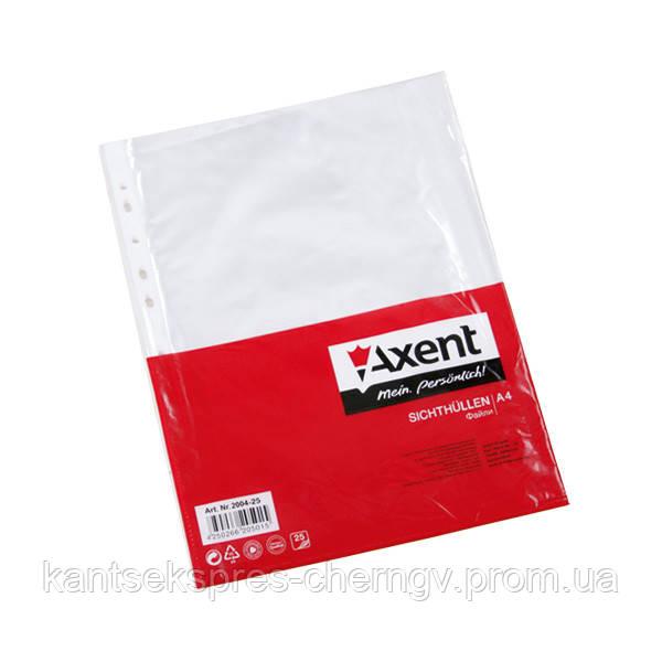 Файл Axent 2004-00-A А4+, глянцевый, 40 мкм (100 шт.)