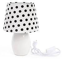 Светильник настольный, лампа, ночник прикроватный 28 см