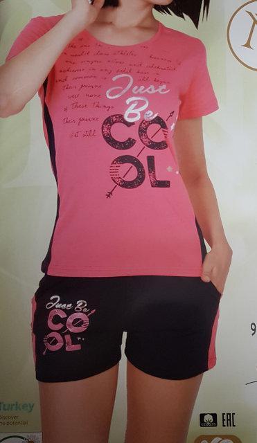 """Женская пижама """"Nicoletta"""" №80749 шорты"""