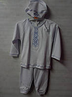 Детский нарядный комплект для мальчика на рост 80