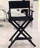 Складной стул для визажа Apolo black