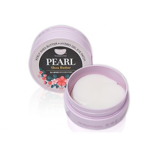 KOELF Гидрогелевые Патчи Pearl Shea Butter Hydro Gel Eye Patch 60 шт