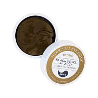 PETITFEE Black Pearl & Gold Eye Patch Гидрогелевые Патчи